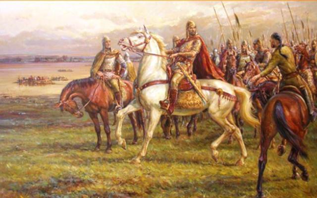 Смята се, че езикът на аспаруховите българи се говорил по