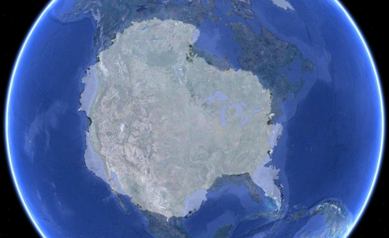 Но студеният океан е загряван хиляди, а може би и