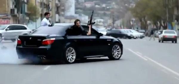 Мъжът е стрелял в няколко района на града, включително до