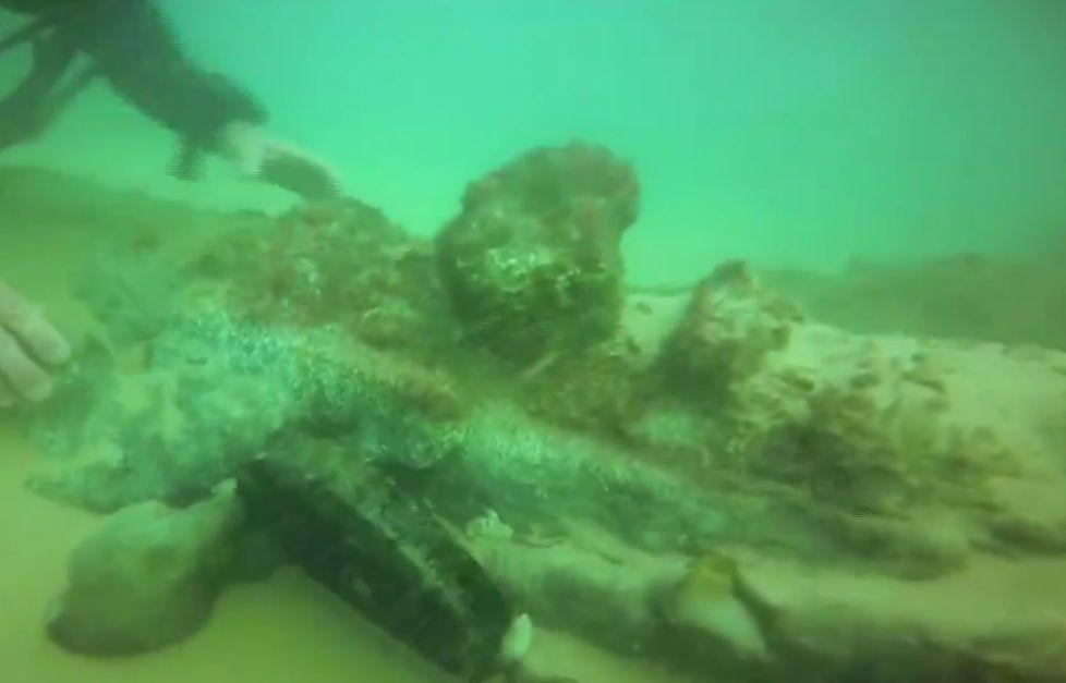 Корабът е открит на 12 м под повърхността на 3