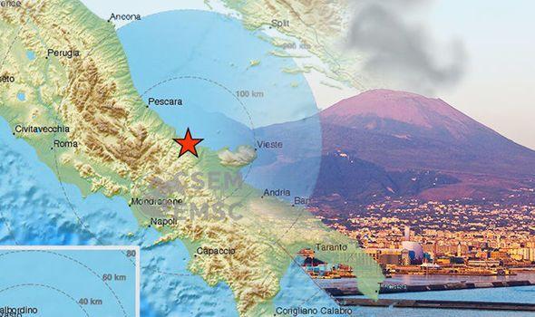 По данни на италианската сеизмологична агенция най-силният трус е бил