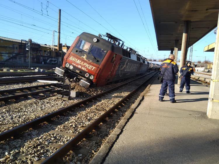 Тази сутрин около 4.15 ч. на гара Пловдив, при преминаване