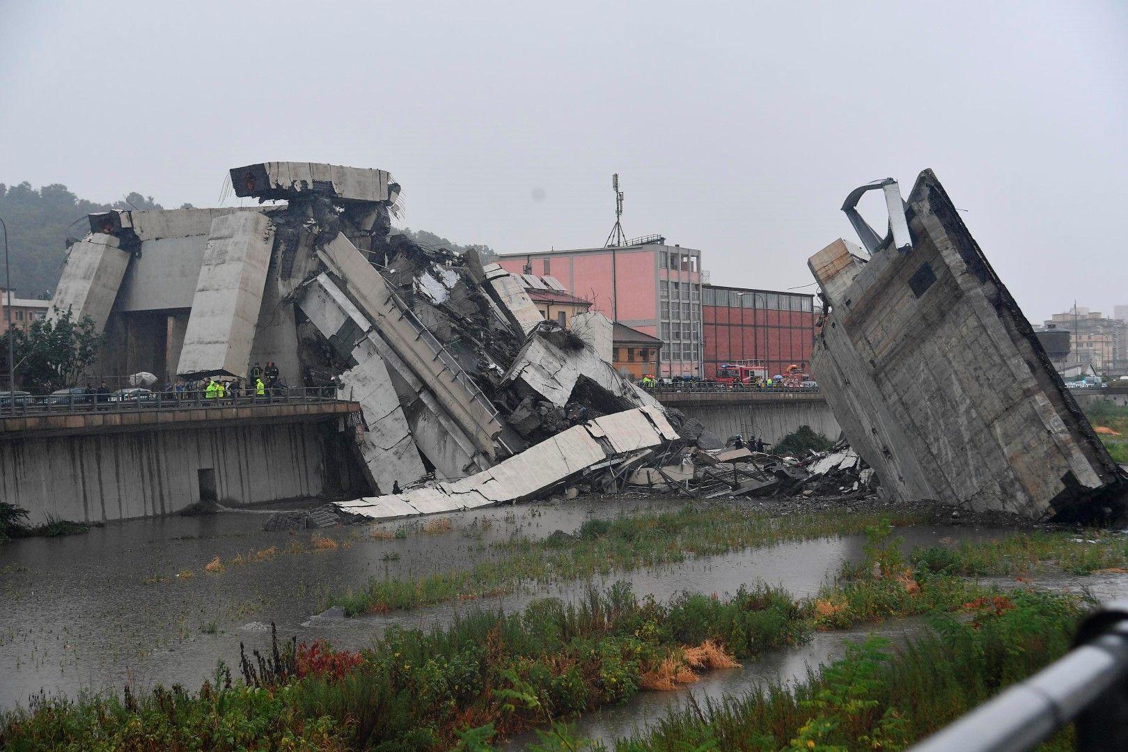 Италианският министър на транспорта Данило Тонинели нарече случилото се
