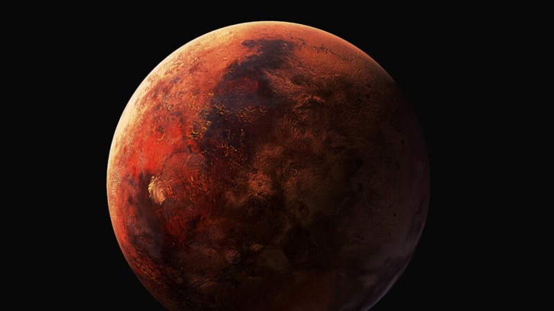 Неотдавнашното откриване на органични съединения тиофени на Марс