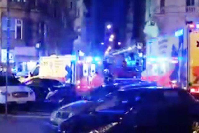 Пожарът в четиризвездния хотел