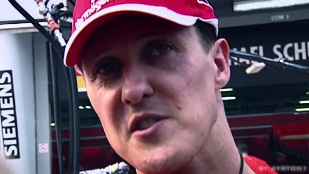 В интервю за британският вестник Express той заяви, че Шумахер