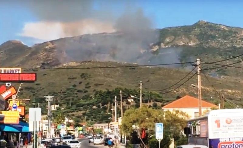 Само преди седмица Гърция преживя огнен ад. Горски пожар, избухнал