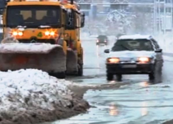 Най-силни са снеговалежите в Софийска област. В Троянския проход -