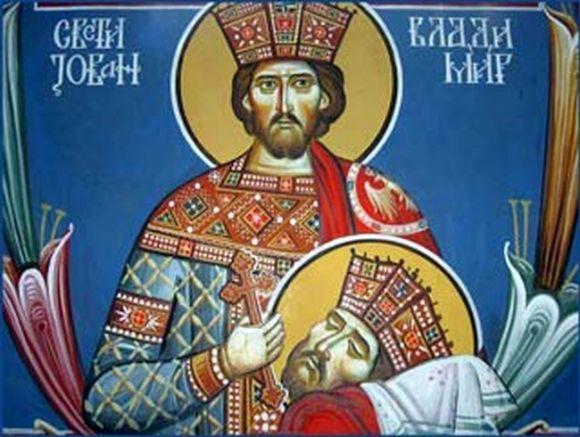 След трагичната смърт на цар Самуил, който умрял на 6