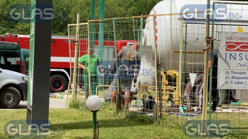 Остра миризма на газ обезпокои живущите в пловдивския