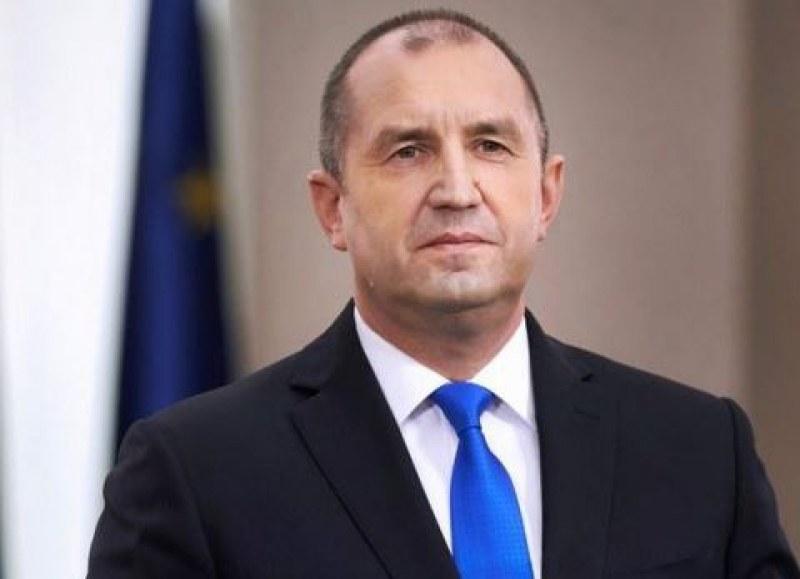 Президентът Румен Радев изразява съболезнования на семейството, близките