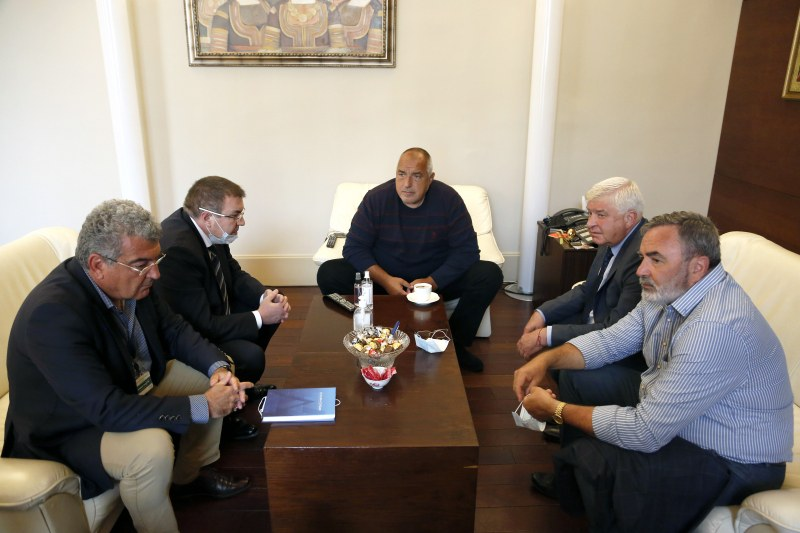 Министър-председателят Бойко Борисов свика работна среща в Министерския