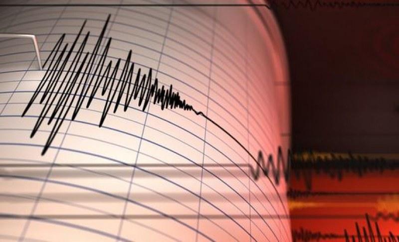 Земетресение с магнитуд 6,2 бе регистрирано днес край