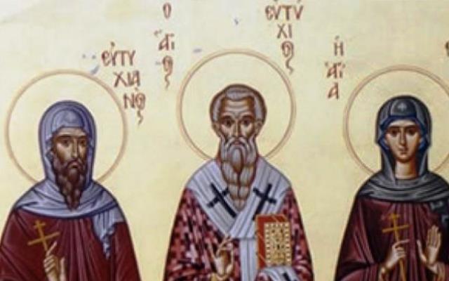 Резултат с изображение за Св. свещеномъченик и апостол Евтих