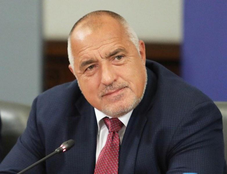 Министър-председателят Бойко Борисов, министърът на транспорта, информационните технологии