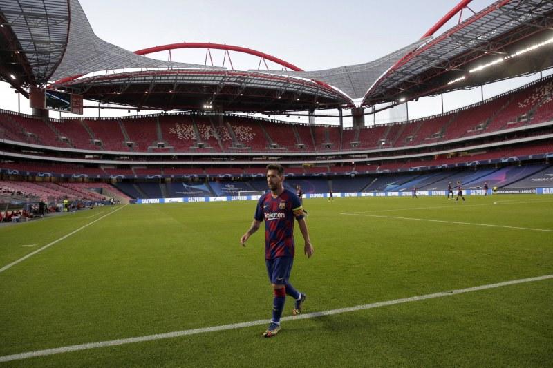 Капитанът на Барселона Лионел Меси е решил да
