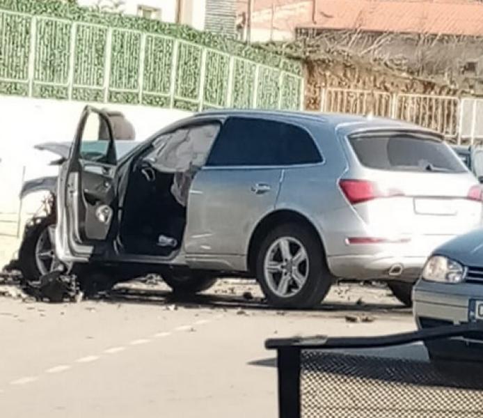 Тежка катастрофа се е случила в столицата, научиGlasNews.bg. Джип